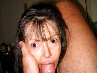 This guy was so appreciative of me sucking his cock that he started lovingly stroking my face. Would you be that loving with me if I was sucking you off?