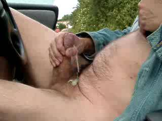 Wish I was there... I would have gotten in the car with you and sucked your cock so you can shoot that nice load in my mouth