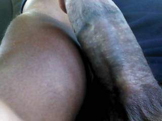 WOW! Would love to spin on that BBC ! Taking it deep in my pussy and ass! Letting you drop your seed and my cuckold cleaning up both of us! Maybe you my want his pussy too?
