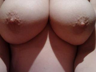 I doubt a tit wank could get any better than with these.
