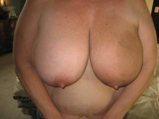 would love to suck them and nibble on ur nipples