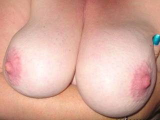 nice big boobs and sexy pink nipples!
