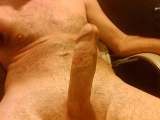 Just showing off my large cock