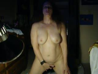 more of my wife masturbating for friend.