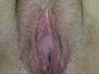 Just been fucked and filled
