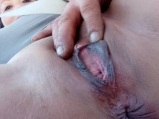 I'm so horny I need my man to playing with my pussy while going down the road