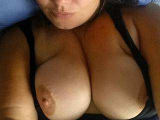 Just me with my huge tits x