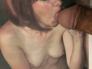 Pettitejane is so cute, especially when sucking a cock. What man could ever resist her? Certainly not me.