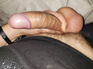 Just got out of the shower and freshly shaved. Nice and hard