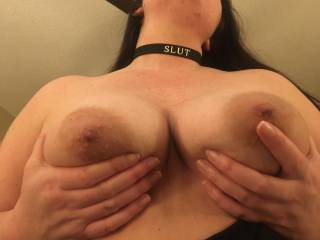 My tits need some cum on them...