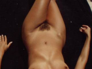 On a nudist beach when I was young, skinny and a bit hairier! What would you do if you were naked with me?