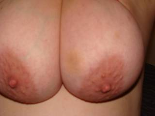 love to squirt my cum over your huge tits.