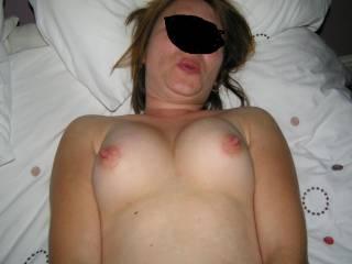 She's cumming