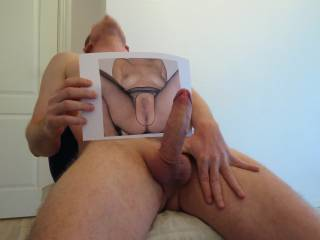 She made your cock really hard .
