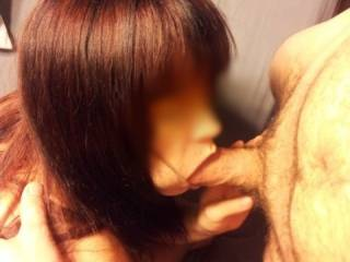 Hot wife loves to suck cock