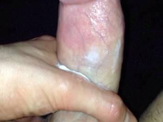 dicks with cum on them
