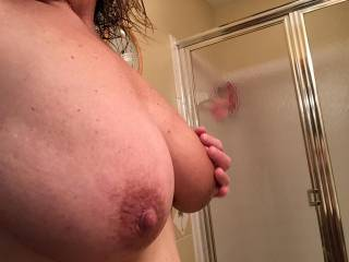 Yes, I want to get in the shower with you. I jump at the chance to get my hands all over your body ;-)