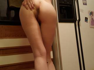 Sexy wife in the kitchen