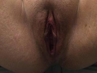 Gaping loose cunt legs spred wide open over the kitchen side. I was fisted after this picture was taken then i had my pussy pounded with my 13inch john holmes dildo. It slid straight in and i couldnt even feel it. What a loose bucket i have!
