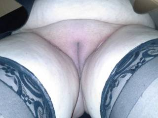 Bbw pulled red to side pic