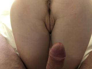 So inviting can't wait to explode over her little ass