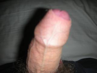 OMG!!  Love to tongue inside your foreskin and kiss all over your cock-head before sucking your entire cock into my mouth!!  Love your cock!!!