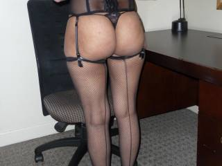 want me to ride you on the chair or want me to bend over the desk... ;)