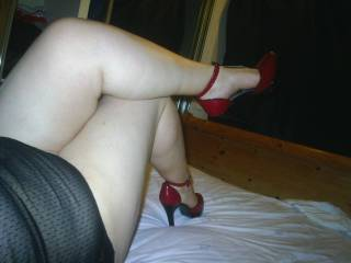 feels so sexy in my heels