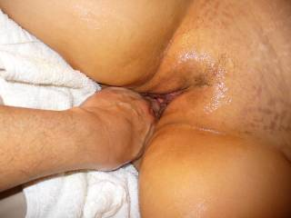 bigger than a big black cock that's what she needs