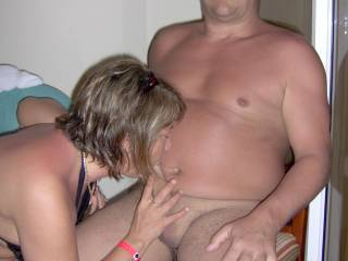 i would love tosee how good she is at sucking hard cock :)