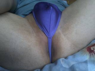 My anus and my g-string