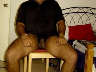 I really love your cock...great hanging foreskin...pleast post more pics...