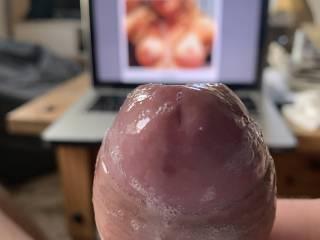 Love her boobs!! she makes me soo hard!! I hope you like it!