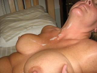 perfect tits!! I would love to cum all over them