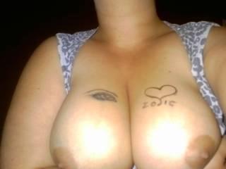 I'd like to give your big genuine tits a genuine load!