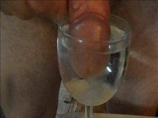 Love to watch cum float in a glass full of water - want sum?