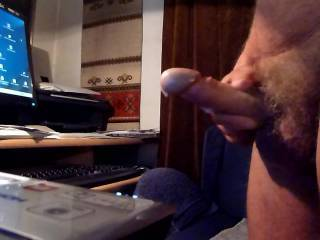 Got horny watching ZOIG. Just had to shoot a load.