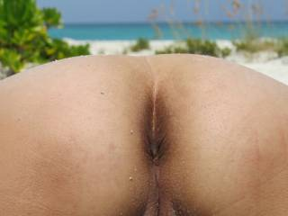 if I was on the beach I would come up to you and tongue fuck your sweet asshole and then I would fuck your very sexy ass