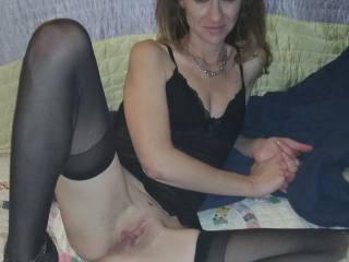 Sweet Madame, my cock is big enough for your tastes?