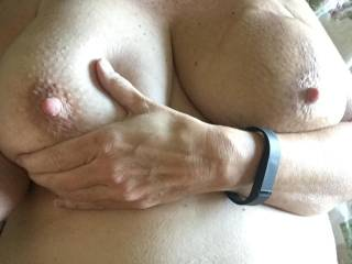 Those big beautiful tits They damn sure are, Id love to have the pleasure of them