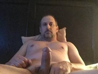 Lonely cock loves a thick ass