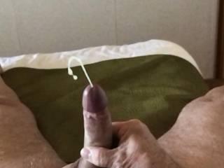 Hope you like seeing my cock shooting chm