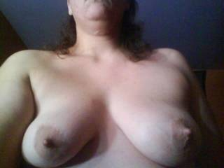 You're not alone!   From what I can see you've got a hot body!  I'd love to kiss, suck and nibble on those nipples.....