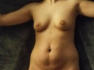 Wife\'s sexy body shot