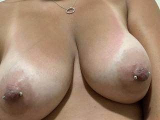 My wife's amazing tits