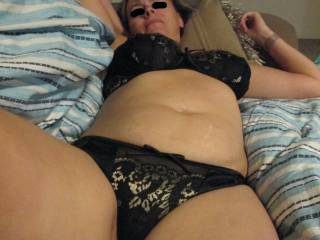 I love wearing a sexy set of bra and knickers