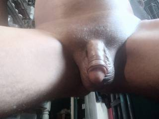 its was free time Close up of my cock while relaxing