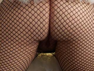 About to get those fishnets split with a hard cock in her tutu wearing ass.