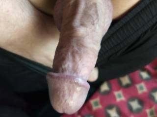 Trying out a new cock ring