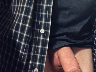 Cock getting swollen.